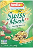 Familia Swiss Muesli (No Sugar Added) Cereal - 32 oz