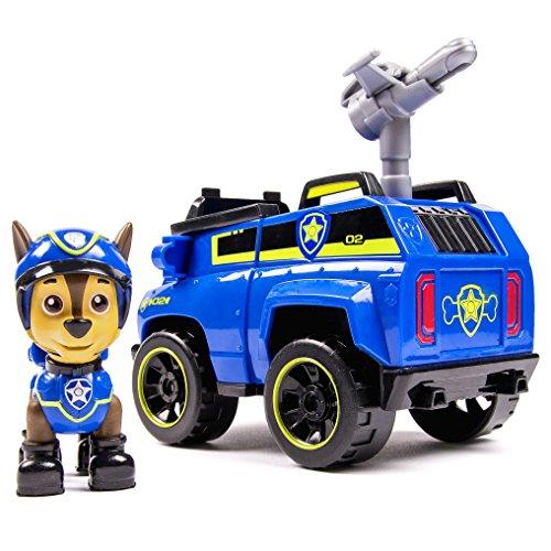Paw Patrol 6027647 – Chase e il suo Veicolo versione Spia