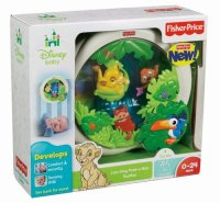 Fisher Price Disney Baby Lion King Peek-a-Boo Soother Toy ...
