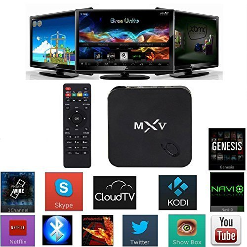 Yuntab MXV Amlogic S805 Quad Core Xbmc Tv Box 1.5GHz Android 4.4 Kitkat,1g RAM 8g ROM ,1080P Full HD HDMI,DLNA WIFI RJ45 HTML5,BLUETOOTH.NERO