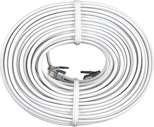 GE 76530 Line Cord (50 Feet, White) 030878765305