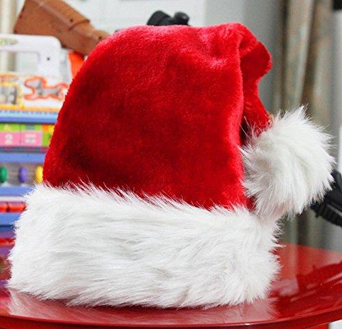 [OneStepAdvance] サンタクロース 帽子 大人用 ふわふわ やさしい肌触り コスプレ 衣装 クリスマス