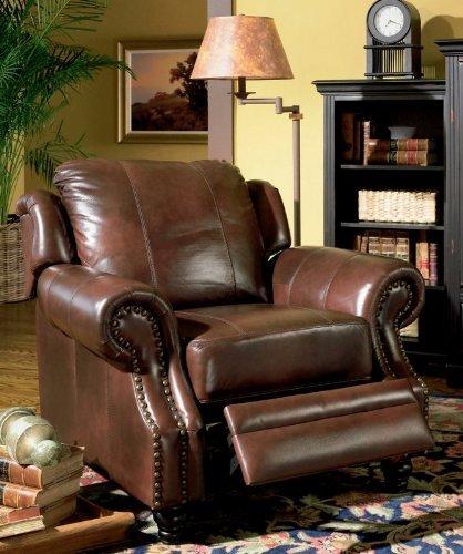 lane dual power reclining sofa recliner sofas nailhead trim sofa#*^