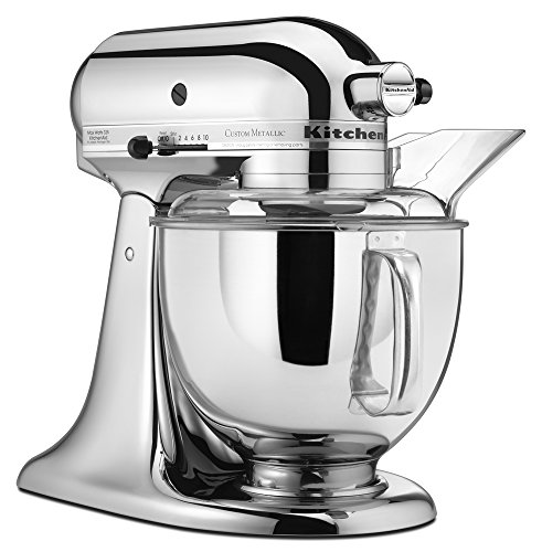 kitchen aid 5 qt mixer range hood best price kitchenaid ksm152pscr custom metallic series quart chrome