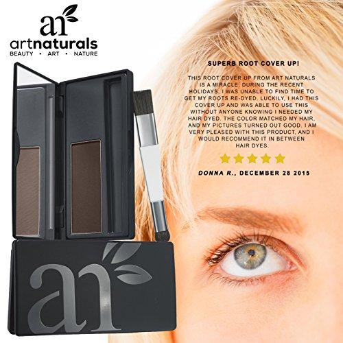 Art Naturals Root Cover Up Dark Brown Color Gray Hair
