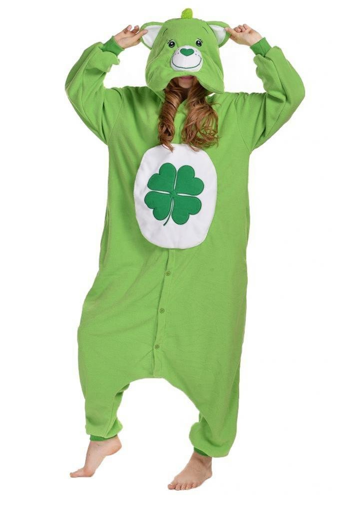 Good Luck Bear Care Bears Kigurumi Costume Men women