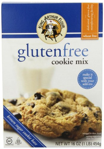 King Arthur Gluten Free Cookie Mix 16 oz Food Beverages