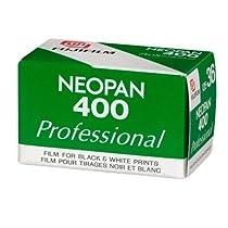 FujiFilm Neopan 400 135-36 B&W Film, 1 Roll