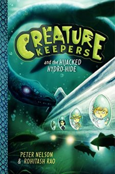 Creature Keepers and the Hijacked Hydro-Hide by Peter Nelson| wearewordnerds.com