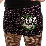 Kreepsville 666 Minirock HORROR CADET black