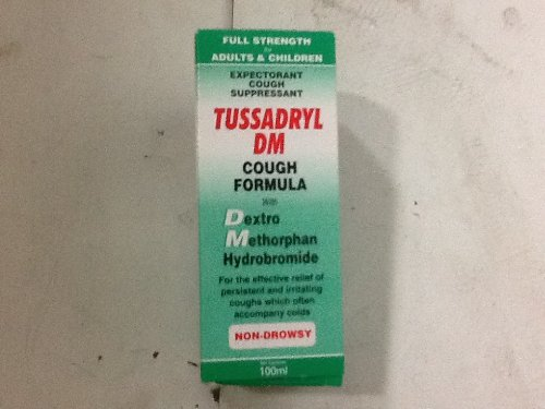Tussadryl Dmv Cough Formula 100ml - $24.99