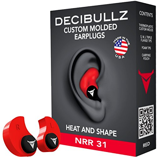 Decibullz custom molded earplugs 31db highest nrr comfortable decibullz ccuart Choice Image