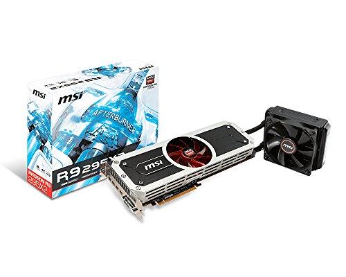 MSI社製 AMD Radeon R9 295X2 GPU搭載ビデオカード R9 295X2 8GD5