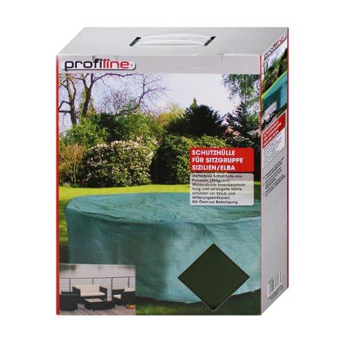 Profiline 454217 - Schutzhülle für Sitzgruppe eckig 230x155cm Abdeckung Sitzgarnitur Gartenmöbel