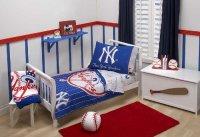 Toddler Bedding: Major League Baseball New York Yankees 4 ...