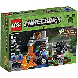 Lego 21113 The Cave Playset with Minecraft Hostile Mobs