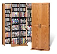 Amazon.com - Large Locking Audio Video Storage Cabinet ...