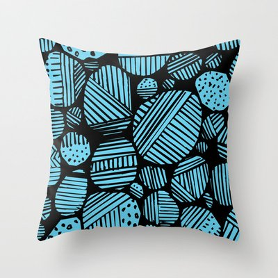 Society6 - Pattern Throw Pillow by 5wingerone