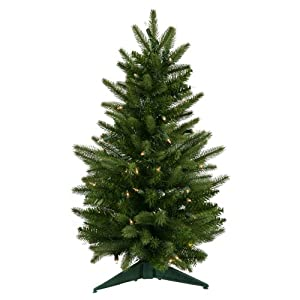 !Cheap 239 PreLit Frasier Fir Artificial Christmas Tree