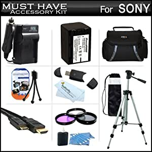 Buy Must Have Accessory Kit For Sony HDRPJ710V HDRPJ760V HDRCX760V High Definition Camcorder