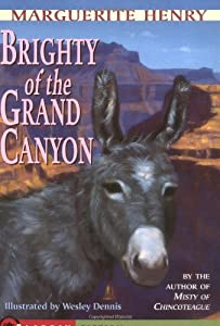 """Cover of """"Brighty: Of the Grand Canyon (M..."""