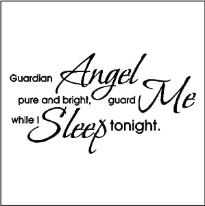 Amazon.com: GUARDIAN ANGEL....WALL QUOTES WORDS SAYINGS
