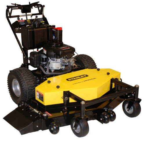 Buy Stanley 54FS Honda V-Twin GXV530 Commercial Walk Behind Finish Cut Lawn Mower with V Bar Ez Hydro, 54-Inch