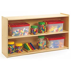 Amazoncom  3shelf Preschool Storage  Bookcases