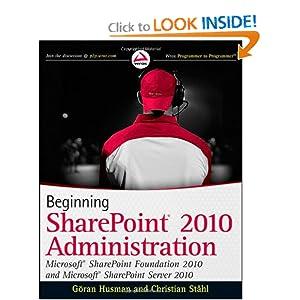 Beginning Sharepoint 2010 Administration