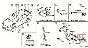 Amazon.com: Infiniti 25320-JN00A, Brake Light Switch