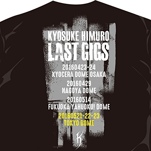 氷室京介 4大ドームツアー「KYOSUKE HIMURO LAST GIGS」 公式グッズ 東京ドーム公演 東京 会場限定Tシャツ (XLサイズ)