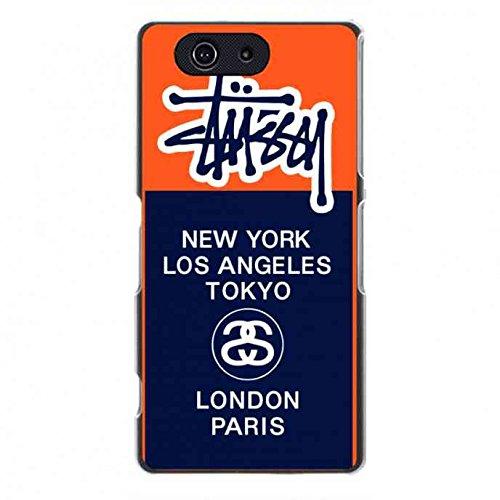 ステューシー Sony Xperia Z3Mini携帯電話ケース stussy ステューシー ケース ケース・カバー・ホルスター ハイブリッド スリム・薄型 携帯電話ケース