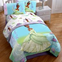Princess and the Frog Twin/Full Washable Light-Up ...