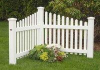 Highwood The Pottsville Decorative Corner Picket Fence ...