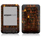 """DecalGirl Protective Kindle Skin (Fits 6"""" Display, Latest Generation Kindle) Library (Matte Finish)"""