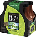 Pure Leaf Iced Tea, Unsweetened, 18.5 oz Bottle, 6 Count