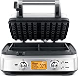 Breville Smart Waffle Pro Stainless Steel 4 Slice Waffle Maker