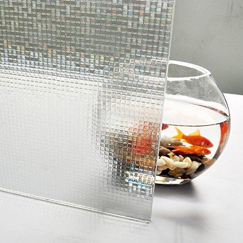 Aingoo Fensterfolie Sichtschutzfolie Milchglasfolie Window Film 90x200cm