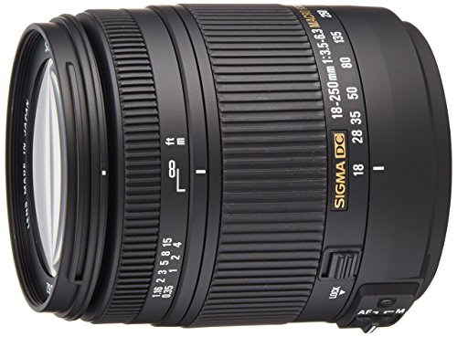 Sigma 18-250mm f3.5-6.3 DC MACRO OS HSM for Canon Digital SLR Cameras