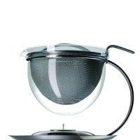 Teekanne mit Stvchen aus Glas oder Keramik  moderne und ...