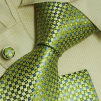 Green Theme cheap ties for men gifts for him fashion blue ...