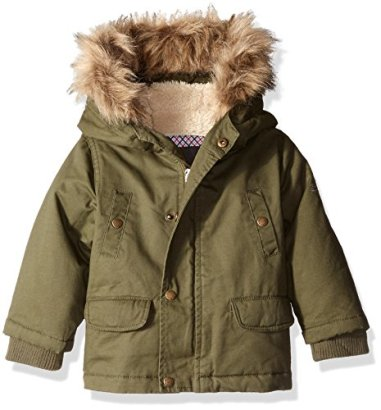Ben-Sherman-Boys-Heavy-Woobie-Polyfilled-Hooded-Jacket-BrushOlive-24-Months