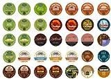 Flavored Coffee Sampler, Single-cup coffee for Keurig K-Cup Brewers (Pack of 35)