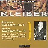 Beethoven: Symphony No. 6 in F-Dur, Op. 68 Pastorale - Mozart: Symphony No. 33 KV 319 (1953 Recordings)