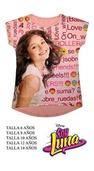 Camiseta-Soy-Luna-Disney-Love-Rosa