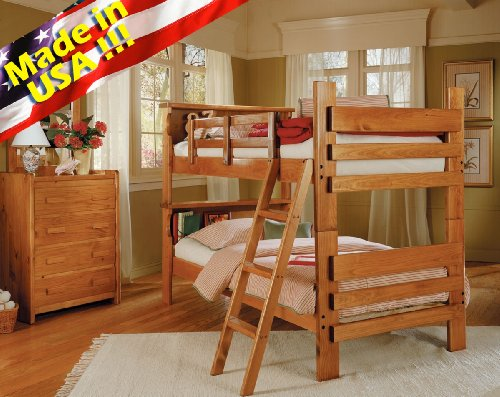 Top Seller Roundhill Furniture Solid Wood Convertible Bunk