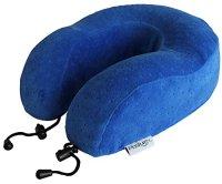 Travel Pillow - Best Memory Foam Therapeutic U-shaped Neck ...