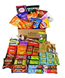 Healthy Snacks In a Box Care Package Gift (47 Count)