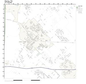 Amazon.com: ZIP Code Wall Map of Forney, TX ZIP Code Map