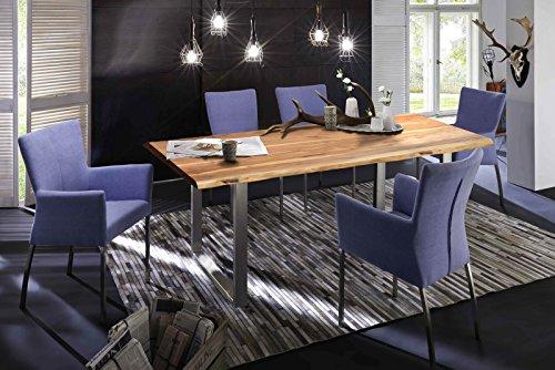 SAM Stilvoller Esszimmertisch Quarto aus Akazie Tisch